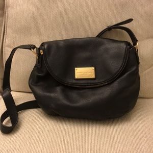 Marc Jacobs black cross body purse / never used